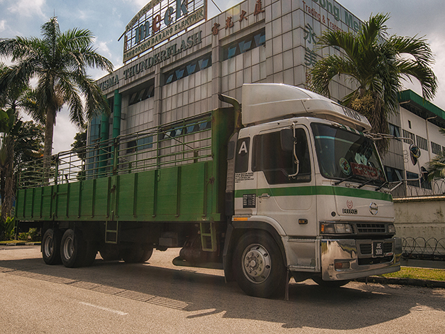 yoong mei15Ton30 Footer Cargo Lorry with Pagar